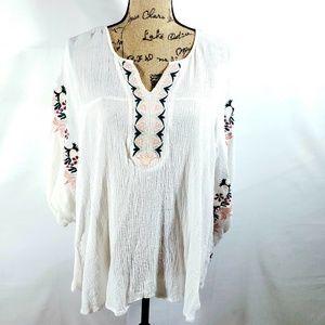 LANE BRYANT boho style blouse size 14/16
